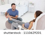 massage for relax. top view of...   Shutterstock . vector #1110629201