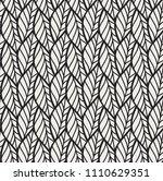 geometric leaves vector... | Shutterstock .eps vector #1110629351