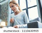 gradual process. beautiful... | Shutterstock . vector #1110630905