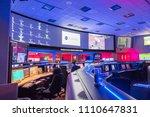 Small photo of June 10, 2018 La Canada Flintridge / CA / USA - Inside view of the Mission control center at the Jet Propulsion Laboratory (JPL)