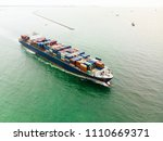 bird's eye view from drone of... | Shutterstock . vector #1110669371