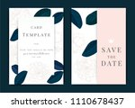 vector decorative greeting card ... | Shutterstock .eps vector #1110678437