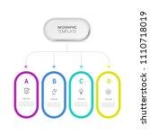simple business info graphics | Shutterstock .eps vector #1110718019