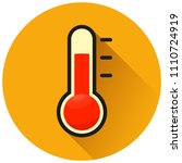 illustration of thermometer... | Shutterstock .eps vector #1110724919