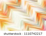 colorful zigzag striped pattern ... | Shutterstock . vector #1110742217