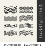 abstract background with wavy... | Shutterstock .eps vector #1110790841