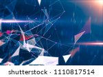 abstract geometric background... | Shutterstock . vector #1110817514