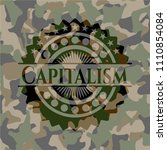 capitalism on camouflaged...   Shutterstock .eps vector #1110854084