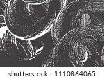 grunge texture. distress black...   Shutterstock .eps vector #1110864065