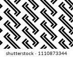 design seamless monochrome... | Shutterstock .eps vector #1110873344