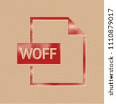file format icon in halftone...