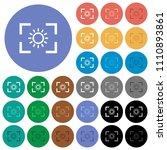 camera brightness setting multi ... | Shutterstock .eps vector #1110893861
