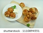 buns with cheese cookery | Shutterstock . vector #1110894551