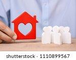 great demand buying or renting... | Shutterstock . vector #1110899567