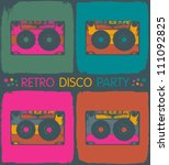 Retro Disco Party Invitation I...