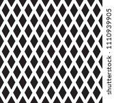 seamless diamond rhombus check... | Shutterstock .eps vector #1110939905