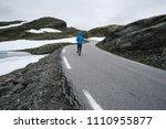 norwegian scenic route...   Shutterstock . vector #1110955877