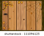 vector halloween background... | Shutterstock .eps vector #111096125
