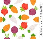 carrot  radish  beetroot...   Shutterstock .eps vector #1110962351