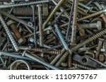 Rusty Metal Nails  Screws  Nut...
