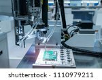 robot drill machine tool with... | Shutterstock . vector #1110979211