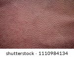 old brown leather texture... | Shutterstock . vector #1110984134
