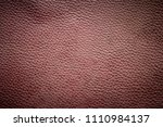 old brown leather texture... | Shutterstock . vector #1110984137