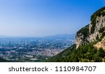 foggy view of towns south of... | Shutterstock . vector #1110984707