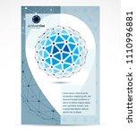 computer technologies creative... | Shutterstock .eps vector #1110996881