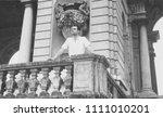 circa 1950  vintage photograph... | Shutterstock . vector #1111010201