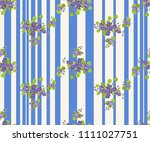 seamless colorful pattern in... | Shutterstock . vector #1111027751
