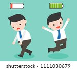happy and full of energy... | Shutterstock .eps vector #1111030679
