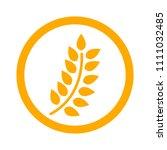 gluten free icon  gluten free... | Shutterstock .eps vector #1111032485