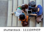 students university asian... | Shutterstock . vector #1111049459