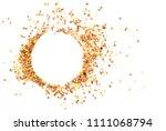 set of potting chili seeds  | Shutterstock . vector #1111068794