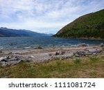 new zealand water lake southen...   Shutterstock . vector #1111081724