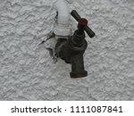 outside water tap | Shutterstock . vector #1111087841