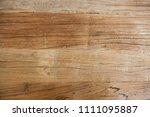 rustic reclaimed wood texture... | Shutterstock . vector #1111095887
