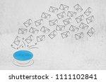 activate your online success... | Shutterstock . vector #1111102841