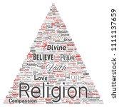 vector conceptual religion  god ...   Shutterstock .eps vector #1111137659