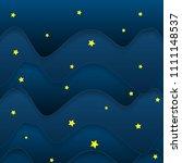 vector night sky background...   Shutterstock .eps vector #1111148537