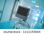 switched off usd apparatus in... | Shutterstock . vector #1111153064