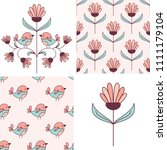 patterns and design elements... | Shutterstock .eps vector #1111179104