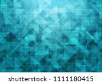 light blue vector blurry... | Shutterstock .eps vector #1111180415
