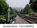 grosmont railway station. north ... | Shutterstock . vector #1111184891