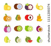 illustrations of tropical...   Shutterstock . vector #1111200374
