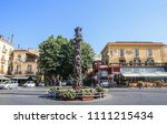 sorrento  italy july 21 2017 ... | Shutterstock . vector #1111215434