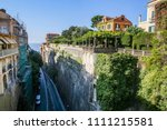 sorrento  italy july 21 2017 ... | Shutterstock . vector #1111215581