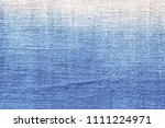 gradient grey blue cotton weave ... | Shutterstock . vector #1111224971