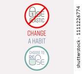 typographic design of stop... | Shutterstock .eps vector #1111226774